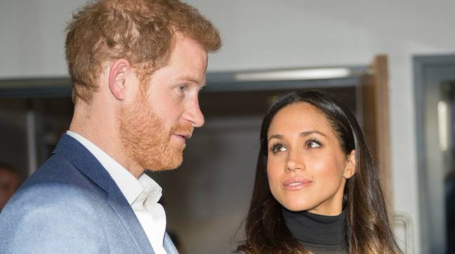 Prince Harry and Meghan said they felt 'trapped' in the 'institution' (Credit: PA)