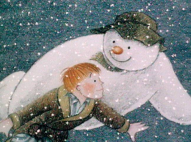This silent movie was based originally on the Raymond Briggs wordless book (Credit: Channel 4)