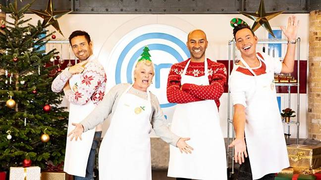 Masterchef's finest returned for a Christmas special (Credit: BBC)