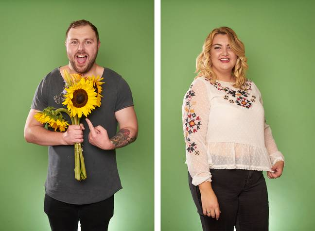 Shannen and Daniel were partnered together (Credit: Channel 4)