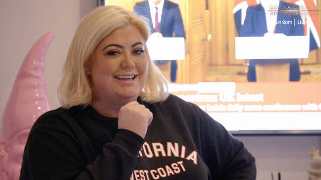 The show follows Gemma in isolaltion (Credit: ITVBe)