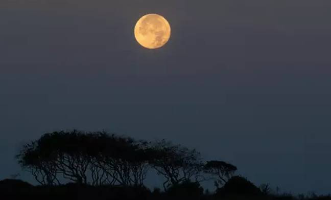 We usually have a harvest moon in September (Credit: PA)