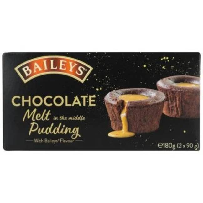 The Baileys chocolate melt-in-the-middle puddings sound delicious (Credit: Baileys)