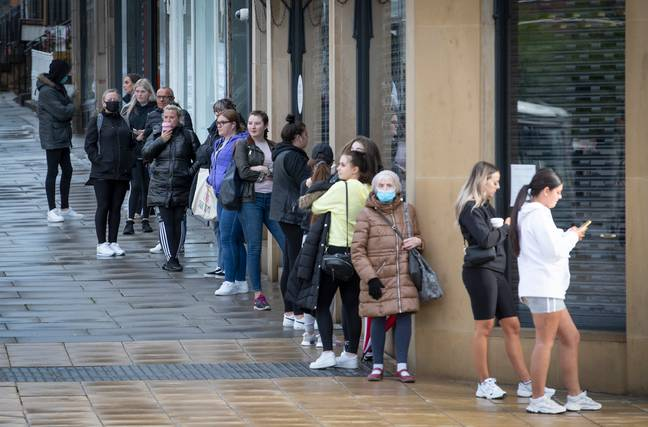 Primark saw huge queues when it reopened (Credit: PA Images)