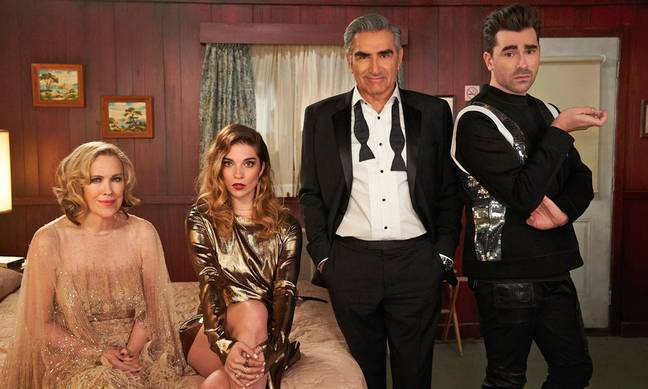 The show follows the Rose family after they are forced to move to Schitt's Creek (Credit: NBC)