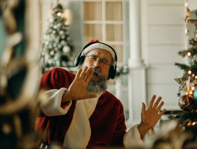 Is it ever too early to listen to Christmas songs? (Credit: Pexels)