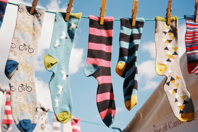 The possibilities are endless when it comes to socks which is why they are not a bad gift (Credit: Unsplash)