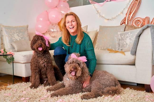 Niki has two dogs of her own, Chelsea and Holly (Credit: Caters/Mercury)
