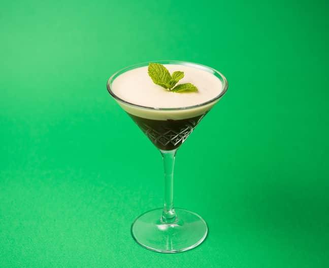 It's a minty take on the classic espresso martini (Credit: The Espresso Martini Society)