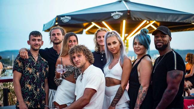 The series follows a group of young Brits as they spend a summer living, working and playing in Ibiza (Credit: BBC)