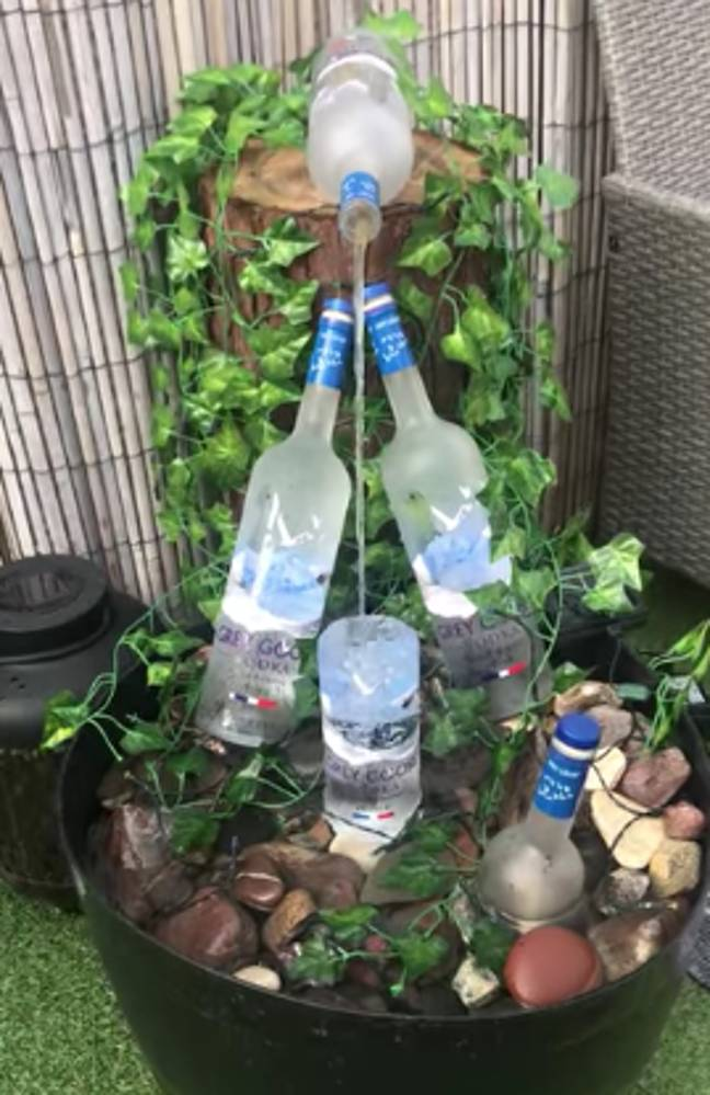 Someone made a Grey Goose one, too (Credit: Facebook/ Noleen)