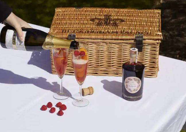 Try making a Sloe Royale cocktail (Credit: Royal Collection Trust/ Her Majesty Queen Elizabeth II 2021/PA)