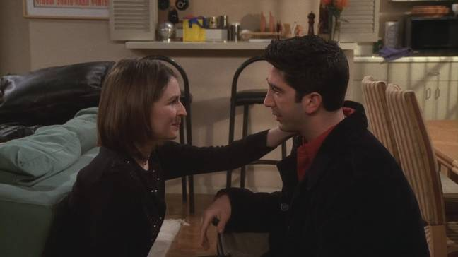 Emily didn't want Ross to invite Rachel (Credit: Warner Bros)