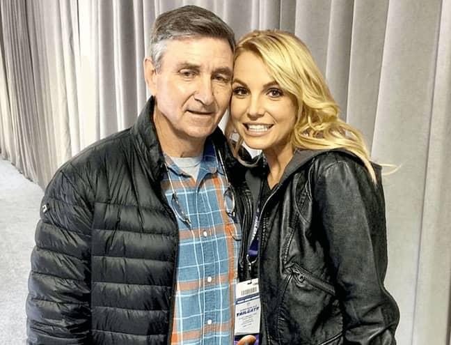 Britney Spears and Jamie Spears (Credit: Britney Spears/Instagram)