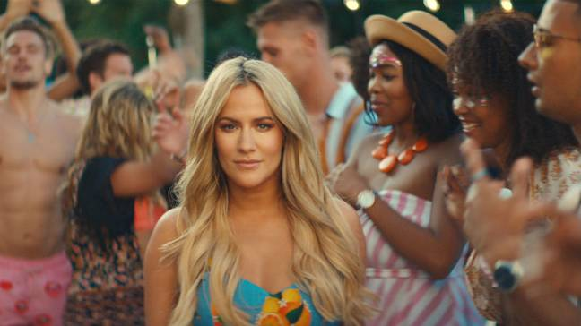 Caroline Flack was charged with assault (Credit: ITV)
