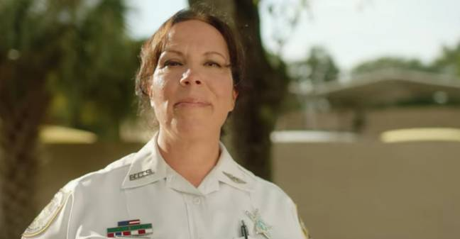 Lisa now works as a member of the Hillsborough County Sheriff's Office (Credit: Lifetime/Netflix)