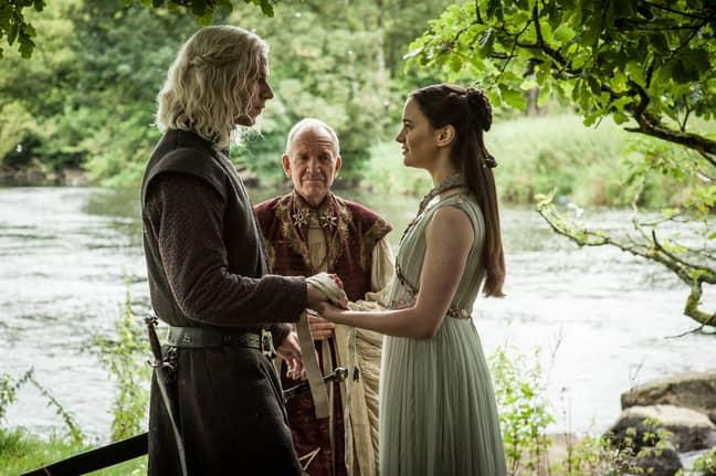 Lyanna Stark and Rhaegar Targaryen attended The Great Tourney at Harrenhal (Credit: HBO)