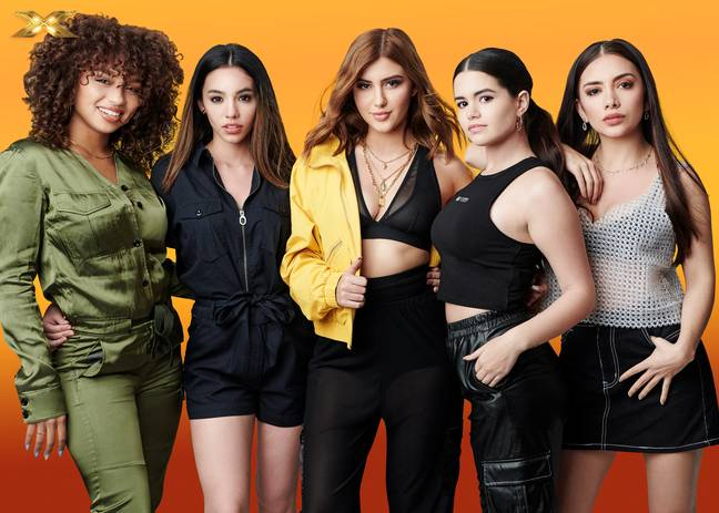 Social media influencers Sofia, Alondra, Laura, Wendii and Natalie. Credit: ITV