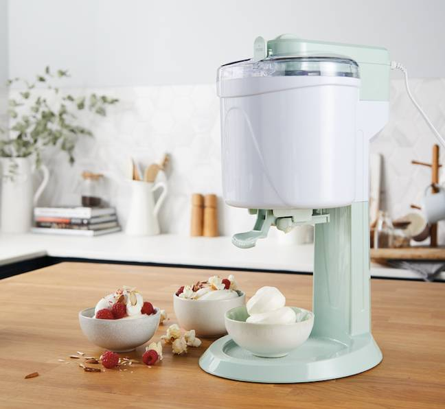 The ice cream maker is part of the new Special Buys range (Credit: Aldi)