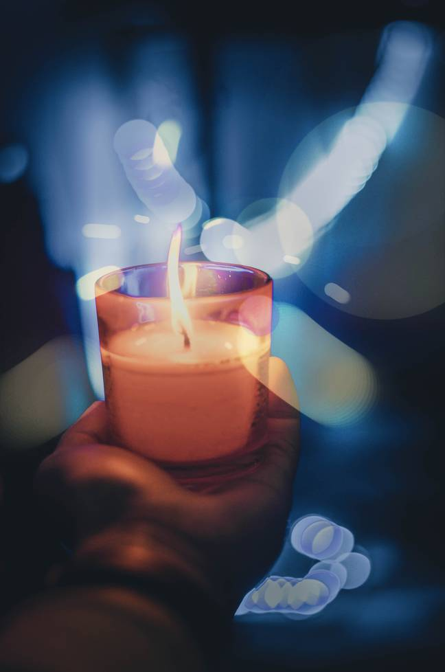 The flame from Emily's candle burnt her severely (Credit: Unsplash)