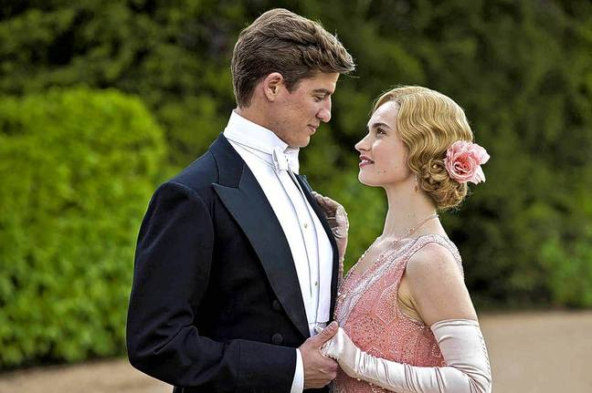 Lily James will star as the lead character, Linda Radlett (Credit: ITV)