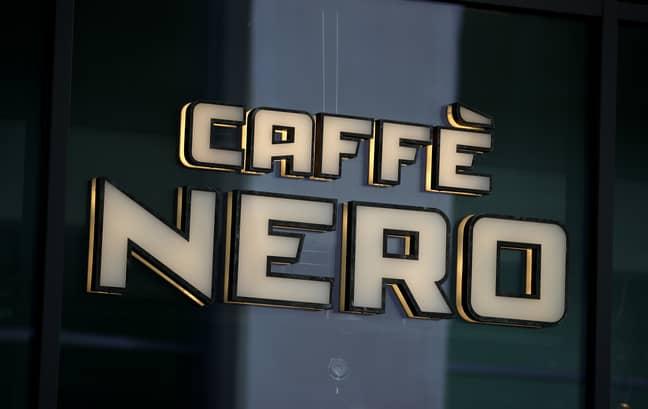 Reagan's UK coffee shop tour led her to Caffè Nero (Credit: PA)