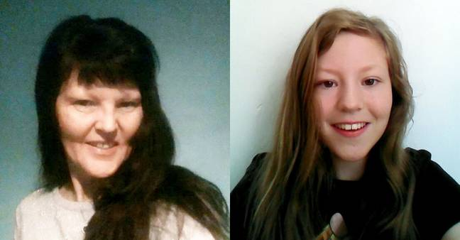 Edwards' sister, Katie and mum Elizabeth were the victims (Credit: CRIME + INVESTIGATION)