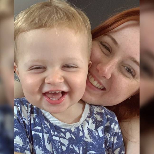 Leah and her 18-month-old son were shaken up by the ordeal (Credit: Yorkshire Live/MEN Media)