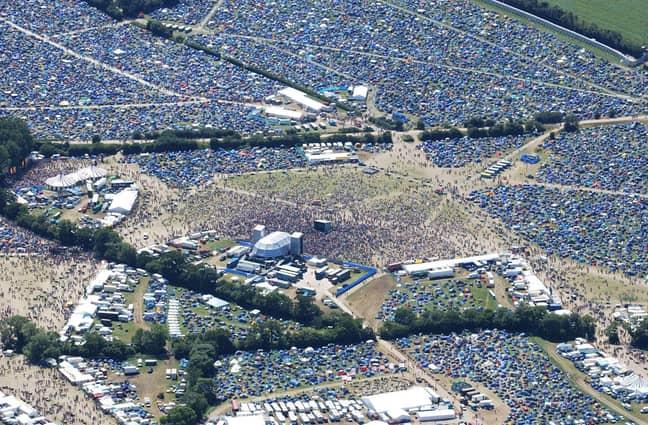 Glastonbury is a huge British festival (Credit: PA Images)