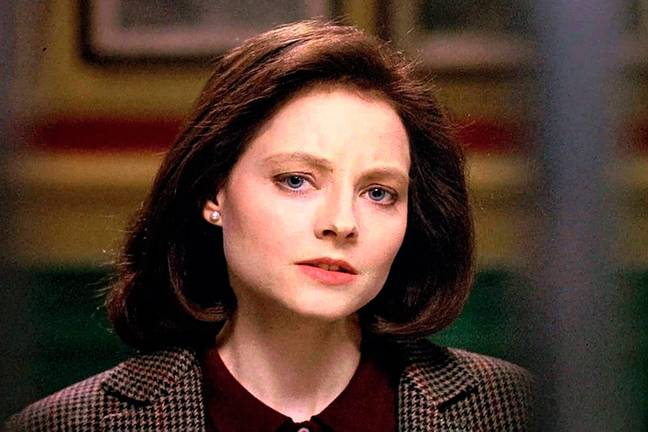 Jodie Foster initially played Clarice (Credit: Orion Pictures)