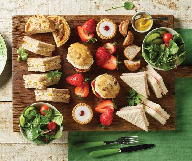 Morrisons has launched takeaway ready made picnic platters (Credit: Morrisons)