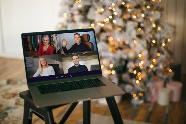 Families may have to celebrate virtually this year (Credit: Shutterstock)
