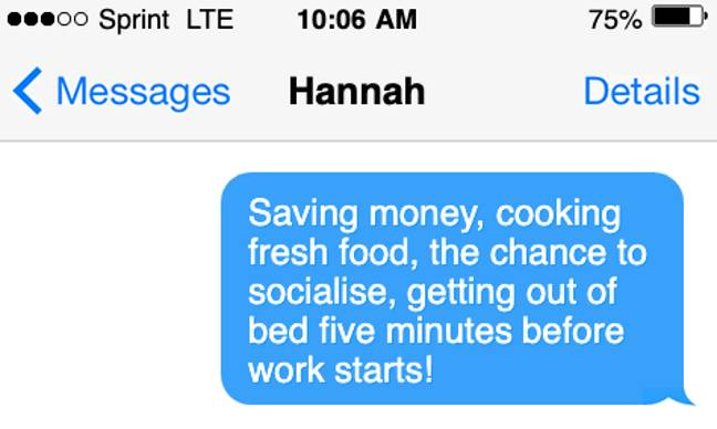 We're not emotionally prepared for two hours less sleep a night (Credit: Tyla)