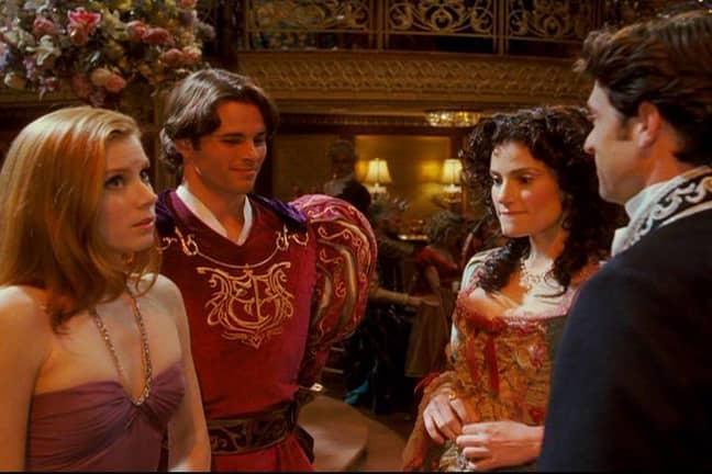 Amy Adams, Idina Menzel, Patrick Dempsey and James Marsden in Enchanted (Credit: Walt Disney Pictures)