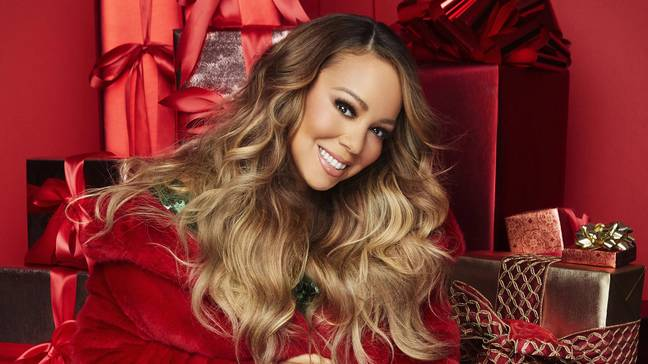 Mariah Carey, Jennifer Hudson and Ariana Grande have teamed up for a remix of 'Oh Santa!' just in time for Christmas (Credit: Apple TV+)