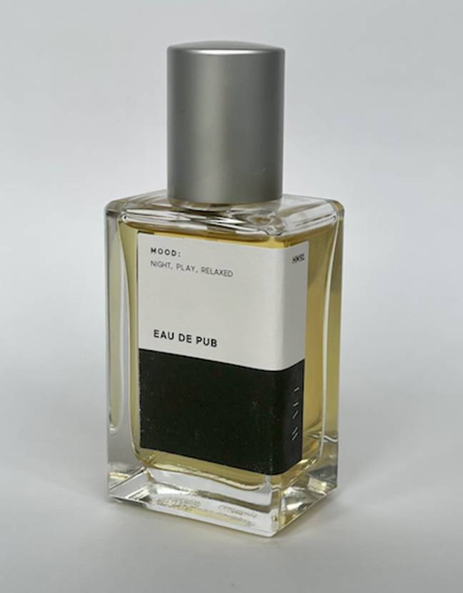 The pub scented perfume actually smells nicer than you'd expect (Credit: Liberty Games)