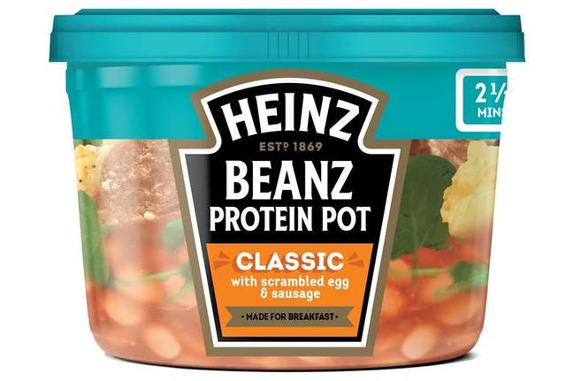 The pots are the perfect speedy breakfast (Credit: Heinz)