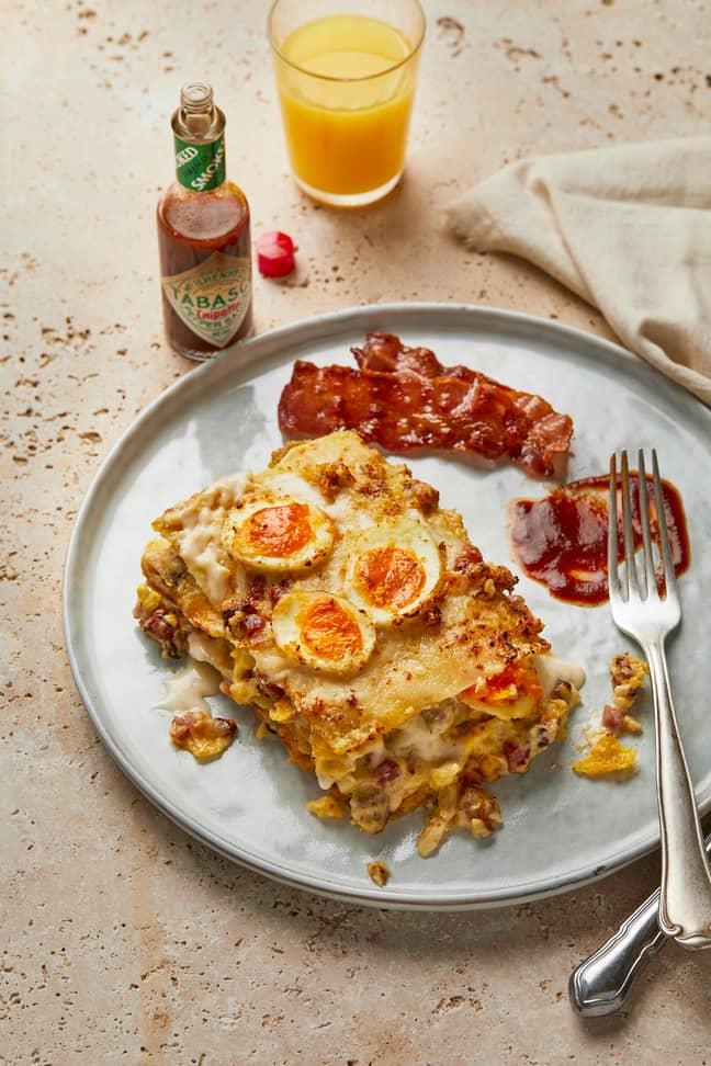 Introducing the brunch lasagne (Credit: Pasta Evangelists)