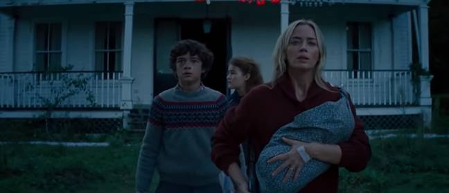 Emily Blunt reprises her role as Evelyn (Credit: One Media)