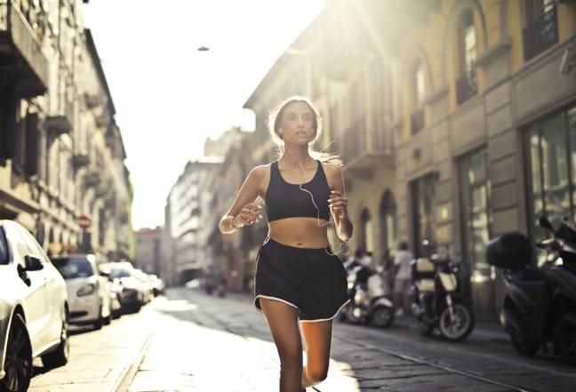 It can be tempting to post online our running routes - but should we? (Credit: Pexels - Andrea Piacquadio)