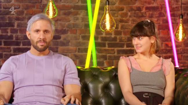 Lucy and Tansel did not go on a second date (Credit: Channel 4)