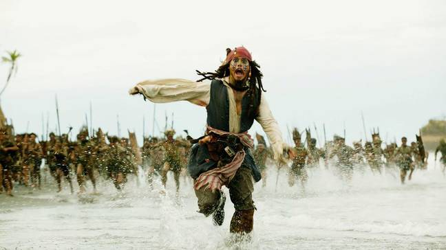 Johnny Depp has starred in Pirates of the Caribbean since 2003 (Credit: Disney)