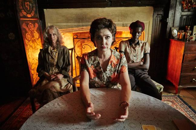 Much Deeping is home to three fortune tellers who people suspect to be practising witchcraft (Credit: Mammoth Screen 2019/Ben Blackall)
