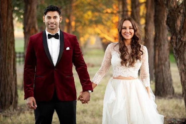 Dino and Melissa's 'marriage' was short-lived (Credit: Nine Network)