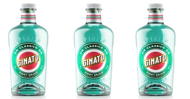 The gin is the first of its kind in the UK (Credit: Ginato)