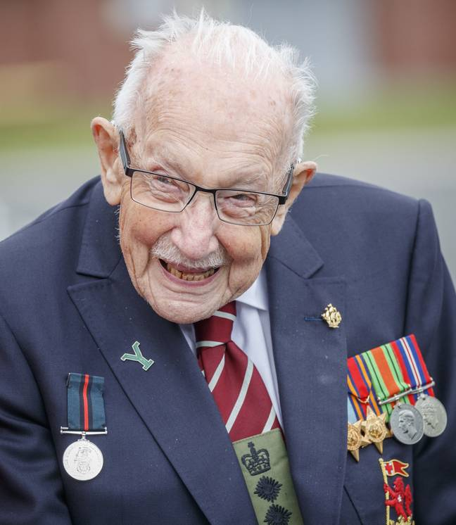 Captain Tom served as an inspiration to many (Credit: PA Images)