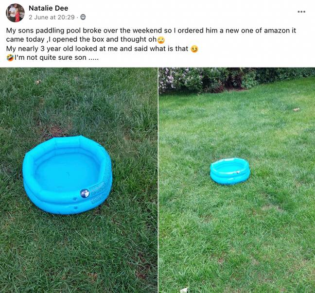 This woman tried to treat her son this summer but the gift wasn't what was expected (Credit: Facebook - Natalie Dee)