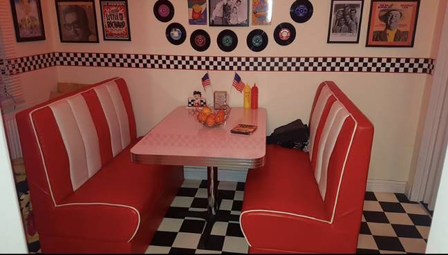 The diner looks good straight out of a movie (Credit: Tracy Campbell)