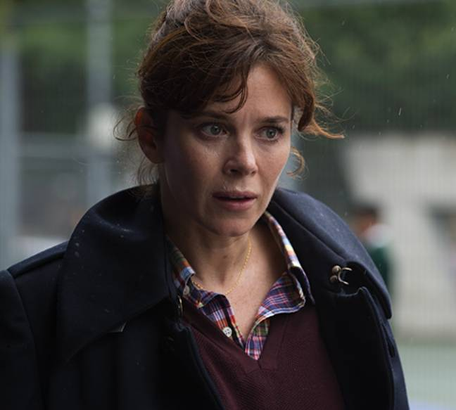 A French version of the British drama - which starred Anna Friel and was written by Hans Rosenfeld - is being made by channel TF1 (Credit: ITV)