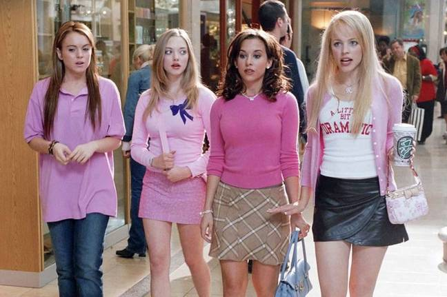 'Mean Girls' starred Lindsay Lohan, Amanda Seyfried, Lacey Chabert and Rachel McAdams (Credit: Paramount Pictures)